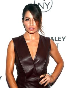 Sarah Shahi at Paleyfest an Evening with Person of Interest in Beverly Hills, October 2013.