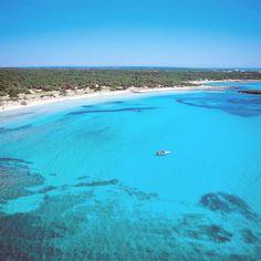 playa de Es Trenc. Mallorca