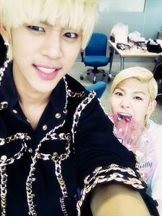 B.A.P's Daehyun and Zelo