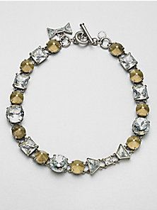 Marc by Marc Jacobs - Mixed Stones Link Necklace