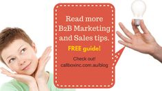 Learn more savvy marketing tips for your campaign in Australia and generate qualified leads like we do!