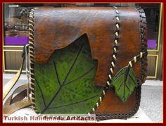HANDMADE Leather Bag Shoulder Purses Satchel 83-A | eBay