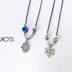 🆕🌸 Delicate Collection🔸Fios ajustáveis com hamsa hand e nó da felicidade >> 4.00 cada  #88knots #acessorios #novidade #novidades #newin #colares #trescamadas #pulseiras #novacolecção