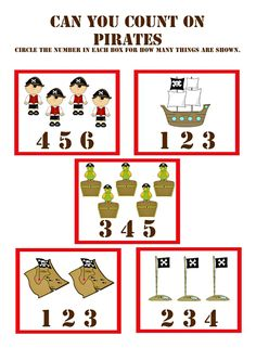 Разнообразные математические задания. Пираты