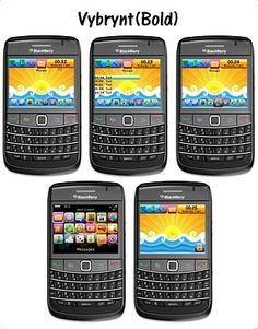 Blackberry Free Themes Vybrynt    Get this Funny Themes, With cool Graphics, make your Blackberry looks different