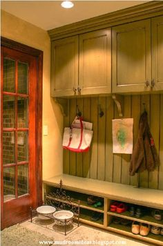 Mudroom Ideas. I have been trying to explain to Tommy this is what I want...just found the perfect picture! -Rachel