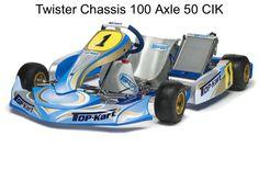 "My future Kart, a 2015 Top Kart ""Twister""."