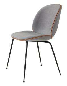 Beetle Chair fully upholstered with Remi, by GamFratesi for Gubi.  Wallis: I pulled a mag pic out specifially for these chairs, trying to look for them. And here they are!