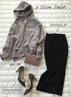 Casual Chic Outfits, Fall Fashion Outfits, Fall Winter Outfits, Hijab Fashion, Autumn Winter Fashion, Korean Fashion, Fashion Dresses, Cute Outfits, Womens Fashion