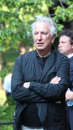 Alan Rickman attends The Public Theater's Annual Gala at the Delacorte Theater on June 9, 2015 in New York City.   Photo: Walter McBride