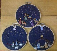 HouzDeco – Interior Design and Home Decor Ideas Christmas Nativity Scene, Christmas Makes, Christmas Cross, Felt Christmas, Christmas Tree Decorations, Christmas Holidays, Christmas Ornaments, Nativity Crafts, Xmas Crafts