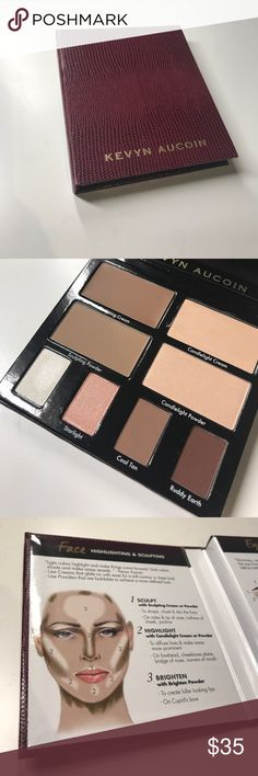 Kevyn Aucoin contour book volume 2 New - swatched two shades lightly Makeup Eyeshadow
