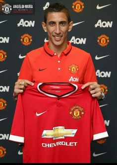 Welcome to Manchester United Angel di Maria!