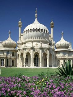 The Royal Pavilion in Brighton is a former royal residence. It is often referred to as the Brighton Pavilion and was built by the British in the Indo-Saracenic style prevalent in India for most of the 19th century