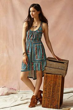 Anthropologie - Laguna Racerback Dress
