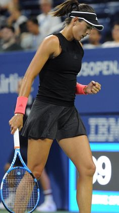 #tennis #tennisplayers #blackdress #tennisskirt #tennisdress Tennis Dress, Tennis Clothes, Wimbledon, Monica Puig, Tennis Online, Dancer Photography, Tennis Equipment, Ana Ivanovic, Tennis Players Female