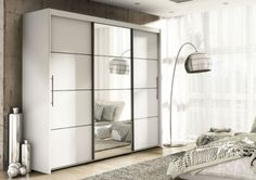 White wardrobes with sliding doors and mirrors: Stylish storage solutions for your home white wardrobes with sliding doors inova white 2 door sliding door wardrobe slider KMKYQIZ Sliding Mirror Wardrobe Doors, White Sliding Wardrobe, Sliding Doors, Mirror Door, Bedroom Cupboard Designs, Bedroom Cupboards, Bedroom Furniture Design, Bedroom Decor, Furniture Nyc