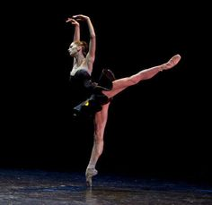 the legs of a ballerina
