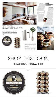 Coffee & Decor by ioakleaf on Polyvore featuring interior, interiors, interior design, home, home decor, interior decorating and Keurig