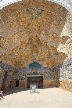 Jameh Mosque of Isfahan - (Persian: مسجد جامع اصفهان‎ – Masjid-e-Jāmeh Isfahān) Iran - founded in the late 8th century - muqarnas/squinches