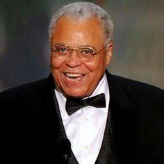 James Earl Jones= Inspiration...and the father of Luke and Simba, respectively.