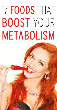 Top Foods (& food pairings) that boost your metabolism & help burn fat!