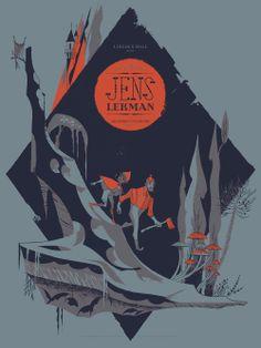 Jens Lekman poster   Illustrator: Anne Benjamin