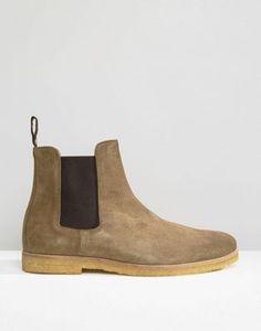 Religion - Bottines chelsea en daim Chelsea Boots, Fashion Online, Religion, Asos, Ankle, Fallow Deer, Religious Education, Faith