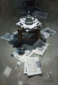 Rafael Català. Exposición.  Pintura en Ceferino Navarro / Granada, España