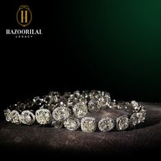 A must have pair that dazzles. #HazoorilalLegacy #Hazoorilal #Jewelry #Bangles #Diamonds