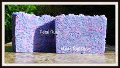 Petal Rush Handmade soap with luxury ingredients by MadeByORiley
