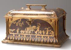 Erhard & Söhne, Jewelry Box, c. 1910