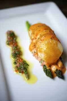 Le Pigeon Restaurant, Portland, Oregon (AP Food Editor recommends for early dinner. Arrive at 10 min. 'til 5 for seating at one of 10 seats at chef's bar reserved for walk-ins)