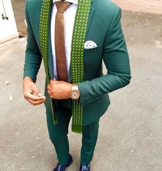 Formal Party Slim Fit Green Suits For Men Best Man Wedding Groom Tuxedos in Clothing, Shoes & Accessories, Men, Men's Clothing, Suits & Suit Separates Groom Tuxedo Wedding, Wedding Suits, Mens Fashion Suits, Mens Suits, Green Suit Men, Grey Slim Fit Suit, Best Man Wedding, Dinner Suit, Party Suits