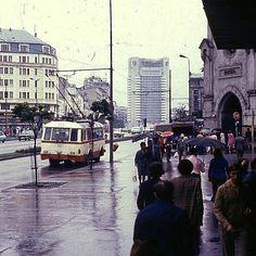 Bucuresti, Baratie, b-dul 1848, 1976 Bucharest Romania, Bad Life, Socialism, Eastern Europe, Old Photos, Nostalgia, Street View, Memories, Times