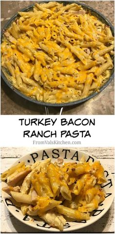 Turkey Bacon Ranch Pasta Recipe From Val's Kitchen - Bialetti & Academia Barilla #MomBlogTourFF #ad