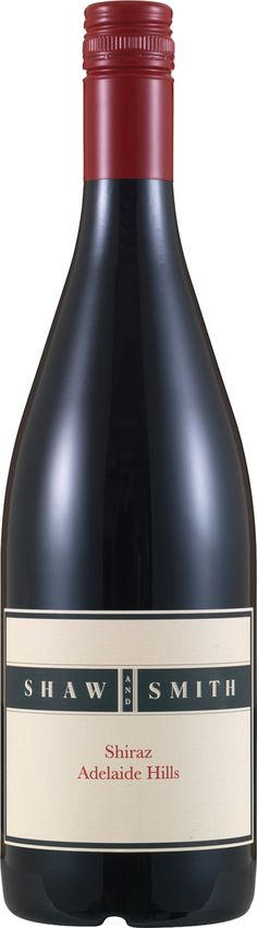 """Shaw And Smith Shiraz 2014 96 points, """""""" James Halliday Another brilliant cool climate Shiraz Vibrant fruit, precise tannins. All beautifully balanced Wines, Vibrant, The Unit, Australia, Fruit, Cool Stuff, Bottle, Flask, Jars"""