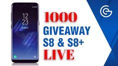 1000 SAMSUNG S8/S8+ GIVEAWAY LIVE 🔴 (1000 LEFT!)🔥 BIGGEST GIVEAWAY EVER!!