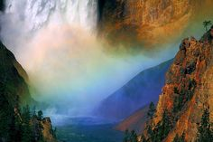 Lower Falls, Yellowstone National Park - photo by ThorsHammer94539, via Flickr
