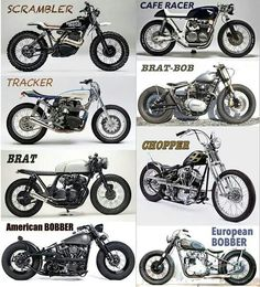 Know your motorcycle styles - RiderLine.com.au