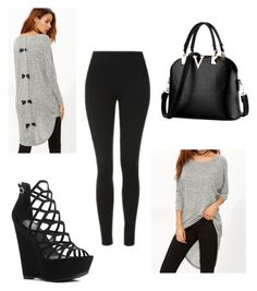 """Untitled #411"" by beautifully-ambitious ❤ liked on Polyvore featuring Topshop"