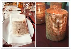 Easy DIY with burlap