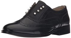 Wanted Shoes Womens Hunny SlipOn Loafer Black 10 M US ** Learn more by visiting the image link.