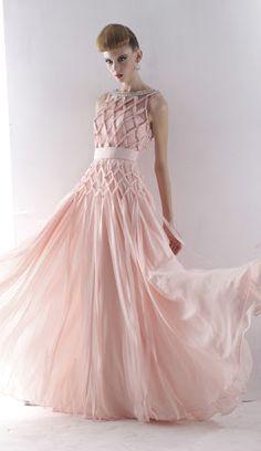 Angela Gown #Pink #blush