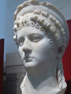 Poppaea Sabina (after AD 63 known as Poppaea Augusta Sabina) (30–65) and sometimes referred to as Poppaea Sabina the Younger to differentiate her from her mother of the same name, was a Roman Empress as the second wife of the Emperor Nero.