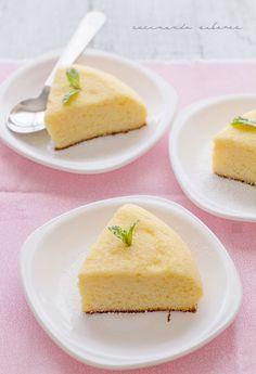 Pastel japonés sin gluten y con solo tres ingredientes: huevos, chocolate blanco y queso ¡una autentica delicia!.