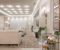 Details!  Living lindo todo clarinho e iluminado by Arquiteto Athos! Via @receberem Foto: Ronaldo Pimentel