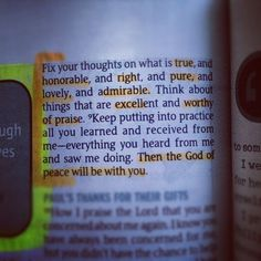 Philippians 4 8 Bible Study | Philippians 4:8-9 Follow me on instagram for more bible ... | iloveG ...