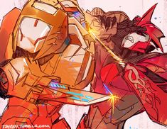 Doctor Fight. Ratchet would be like 'Die decepticon!' and Knockout would be like 'Not the paint! Not the paint!'