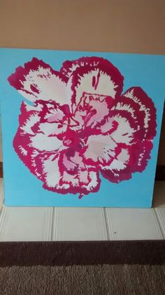 White and carnation painting finished!!